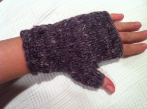 Finished Wrist Warmer